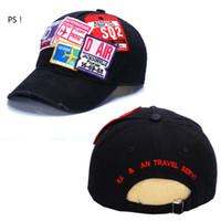 2020 Meilleur designer de vente D2 icône chapeau de baseball bouchons de baseball broderie hommes chapeau snapback casquettedsquaredGolf ajustable Hommes Cap 2eq3D