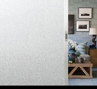 / 90cm 60분의 45 정전기 창 스티커 PVC 퓨어 화이트 프로스트 썬 블록 단열재 장식 스티커 홈 데코 HA1060