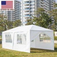 US Stock 10'x20 'Patio Party Shade Baldatto da sposa pesante Aggiornamento all'aperto TentsOutdoor Tenda da campeggio Tenda portatile