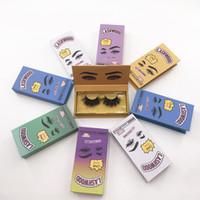 새로운 속눈썹 포장 상자 푹신 푹신 25mm 밍크 플라스 속눈썹 속눈썹 맞춤 래시 나무 포장 트레이 사각형 케이스