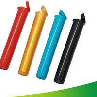 Plastic Herb Box 116x20mm Circular Coluna Forma Organizador boa tensão armazenamento caso Coisas várias opções de cores Hot Venda 1 2xb B2