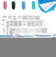 Nail Печать Набор 8PCS 8ml Printing Gel Oil Nail Kit Board Art Stamping шаблоны для маникюра Инструменты Kit