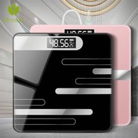New Bathroom Floor Body Scale Glass Smart Electronic Scales ...