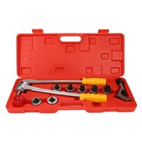 2020 Newest Hydraulic Pump Manual Pipe Flaring Expander Tool Hydraulic Copper Heads Tube Swaging Kit Tube Bender