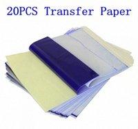 20pcs Tattoo Stencil Papier transfert A4 Taille du papier thermique copieur Tattoo Supplies Accessoires Tattoo Supply Livraison gratuite 32XK #