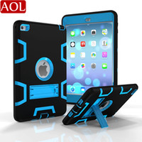 Original Silicon+ PC Armor Shockproof Case For iPad mini 1 2 ...