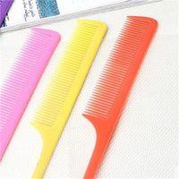 Candy Цветные Заостренный хвост Comb Пластиковые косметические расчески для волос Парикмахерское Стайлинг Инструменты Кисти Профессиональный салон Anti Static 0 09zm B2