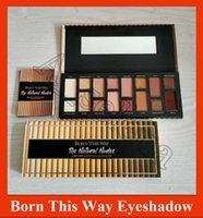 Nuovo Di fronte trucco Born This Way The Natural nude Eye Shadow cosmetici Shimmer Matte Eyeshadow Palette 16 colori