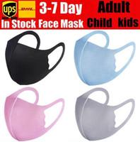 Tasarımcı Yüz Maskesi Anti-Bakteriyel Toz Yüz Kapak PM2.5 Solunum Toz Geçirmez Yıkanabilir Kullanımlık İpek Pamuk Nefes Maskeleri Yetişkin Çocuklar Boy