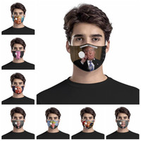 Trump face mask dustproof anti-haze face masks with breathing valve trump adult reusable protective masks YYA317 50pcs