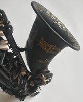 تينور ساكسفون اليابان ياناجيساوا عالية الجودة مات الأسود الموسيقية المهنية لعب تينور ساكس مع حالة شحن مجاني