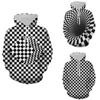 Мода Мужчины Пары Толстовка Толстовка 3D Printed Перемычка пуловер Топы Мужские толстовки