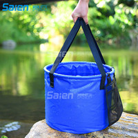 30L Collapsible Bucket for Camping, Travel and Gardening - Portable Folding Wash Basin Water Container Pail,Handy Tool
