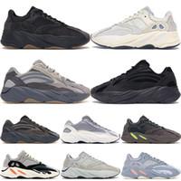 2020 الكربون الأزرق 700 مغناطيس عاكس الجمود تيفرا البنفسجي ثابت متين رمادي كاني ويست الاحذية الرجال المصمم أحذية نسائية أحذية رياضية