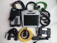 Mb Stern C5 SD Compact 5 und Icom Next WiFi für Software in Laptop cf-h2 4G 1TB SSD professionelles Selbstdiagnosewerkzeug