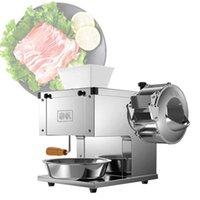 Vendre de la viande commerciale Machine à découper la viande Slicer de bureau Hachoir électrique 850W grande puissance viande Machine de découpage