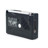 Freeshipping Radio FM / MW / SW 9 Bandwort Empfänger Portable Radio Tecsun R909 Stereo Bequemes Radio