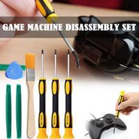 8шт / Set Torx T8 T6 T10 H35 Отвертка Открытие Инструменты Набор Repair Tool Kit Отвертка монтировку для Xbox 360 PS3 PS4