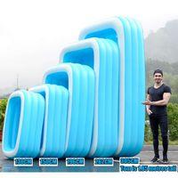 Épaissir piscine gonflable adultes Piscine pour enfants bain à remous extérieure piscine intérieure bain nflatable 110cm-305cm