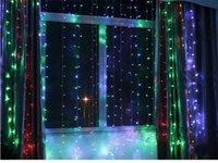 8x3m 800LED Curtain Festa nuziale della tenda del LED ghiacciolo netta luci di Natale lampade giardino di casa principale esterna Fata illuminazione impermeabile