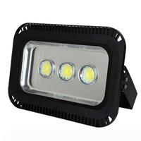 높은 루멘 투광 램프 150W 180W LED 홍수 조명 실외 방수 터널 램프 85-265V 따뜻한 쿨 화이트 LED 홍수 램프 2 년 보증