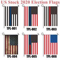 US-Aktien 2020 Wahl-Flagge 30 * 45cm Präsidentenwahl Banner Halten Sie Amerika Große Trump Biden Kampagne Flagge DHL