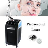 المهنية آلة الليزر picosecond المحترفين 755nm التركيز عدسة مجموعة بيكو لازور الوشم إزالة النمش بقعة آلات تصبغ تصبغ