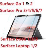 Per Microsoft Surface Pro 3 4 5 6 7 Superficie GO 2 Book3 / Laptop HD Temperato Surface Pro X Protezione dello schermo della pellicola Pro X