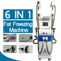 Новейший CriliPolisis Fat Formite Body Shallate Machine 4 Cryo Ручки Кавитация RF Lipo Laser Home Salon