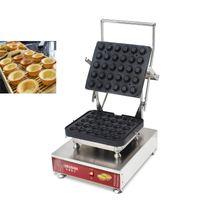 Makine Ticari Yumurta Tart Maker Şekillendirme Sıcak Popüler Yapışmaz 110 / 220V Yumurta Tart Kalıpları Elektrik Tartlet Kabuk