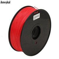 22가지 색상 3D 프린터 필라멘트 ABS의 1.75mm로 1kg 플라스틱 인쇄 고무 소모품 재료 선택 공급