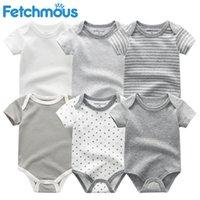 Комбинезоны Baby Rompers с коротким рукавом для девочек одежда 2021 летние детские носить одежда, младенца