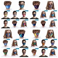 3D Face Mask Men Women Kid Mouth Mask Anti Dust Washable Outdoor Sun UV Shade Protective Fashion Designer Tie-Dye Mask 32styles RRA3369