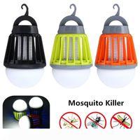 Moskito Zapper Laterne Camping Licht USB-Charging-Moskito-Mörder-Lampen-Birne Plagemit Wasserdichte Bug Killer-Garten Schädlingsbekämpfung Werkzeug