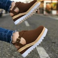 Women' s Sandals Summer Ladies Girls Comfortable Ankle H...