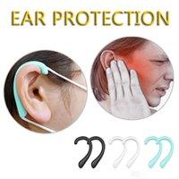 США STOCK DHL свободный корабль универсальный ушной крючок Hookear маска защиты слуха Pad Удобный мягкий защитный Earmuffs на для женщин мужчин унисекс