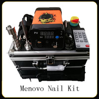 Menovo Electric Titainium Dab Nails Pen Rig Oil Wax Dabbing ...