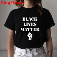 Erkek T-Shirt Siyah Hayatlar Madde Yumuşak Grafik T Gömlek BLM Rahat Yaz T-shirt Ben Nefes alamıyorum Kısa Kollu Tişört Hip Hop Est Üst Tees