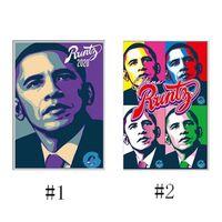 Más nuevo RUNTZ Obama Joker Subir Mylar Bag 3.5G Zipper Pouch Embalaje para la hierba seca Tabaco Edibles Gummies Storage Storage Package