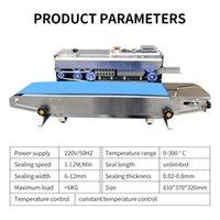 2020 770A 1PC sıcak otomatik film sürekli yapıştırma makinesi alüminyum folyo gıda plastik torba ay kek
