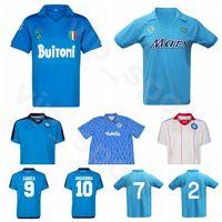 1926 1982 1987 1991 Retro Napoli Jahrgang MARADONA Fußball Jersey ZOLA Careca HAMSIK MERTENS INSIGNE ZIELINSKI ALEMAO Fußball-Hemd-Kits