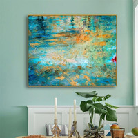 Decorative Art Posters & Prints Abstract Wall Art Green Scen...