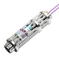 FOXLASERS 2W синий лазерный фонарик лазерный индикатор USB зарядка на открытом воздухе руководство лазерный указатель 450nm Странный подарок 2000