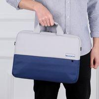 رجل إمرأة حقائب الكمبيوتر المحمول حقائب المحمولة حقائب أكسفورد القماش الأعمال الداخلية السفر محمول 15.6 بوصة كتف رسول حقائب