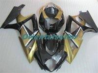 Körper für SUZUKI GSXR1000 GSXR1000 heißen GSXR1000 07 08 Karosserie GSX R1000 07 08 K7 GSXR 1000 2007 2008 golden schwarz AC30 Voll Verkleidungs-Kit