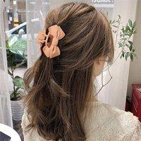 12 styles Nouveau arc givré Frosted épingles à cheveux Mode Femmes clips cheveux filles Bun clips cheveux Maker Accessoires