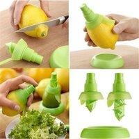 Al por mayor de jugo de fruta fresca cítrica spray 2pcs / set de cocina Limón Naranja pulverizador cocina que cocina Herramientas jugo Squeeze Sprays TQQ BH1013