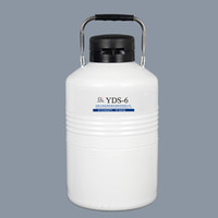 criogenico serbatoio azoto liquido 6L contenitore azoto liquido 6 litri ln2 dewar