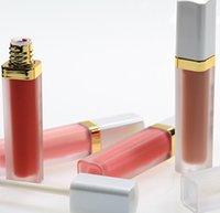 60 colori Cover bianco Lip Gloss Personalizzato Logo Lipgloss Impermeabile Lunga durata Liquid Liquid Lettick Accetta il tuo logo!