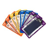 12 * 21cm 4 색 플라스틱 지퍼 휴대 전화 케이스 가방 휴대 전화 쉘 포장 지퍼 팩 아이폰 7 플러스